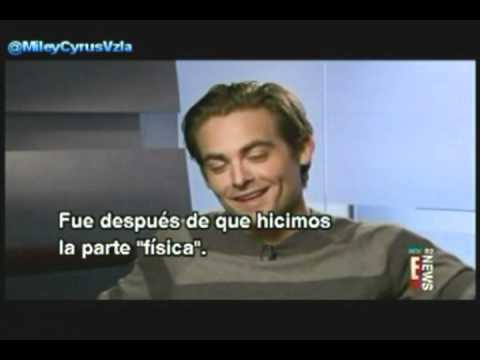 Kevin Zegers talks about The Big Bang Music Video and Miley Cyrus!