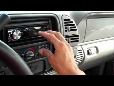 How To Install A Stereo In A Chevy Silverado Head Unit