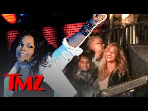 Beyoncé And Blue Ivy Check Out Janet Jacksons Concert!   TMZ