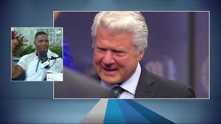 FOX Sports' Michael Strąhan on Jimmy Johnson's Hall of Fame Moment   The Rich Eisen Show   1/30/20