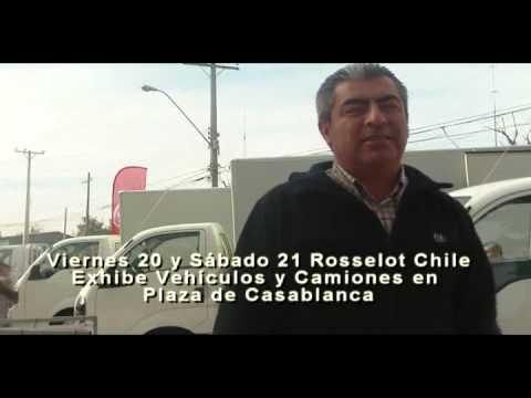 VIVE CASABLANCA Rosselot Exhibe Camiones y Autos en Plaza de Casablanca