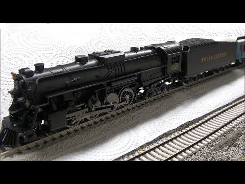 Lionel HO Polar Express Set w/Magnelock Track & Bluetooth Review! New for 2018!