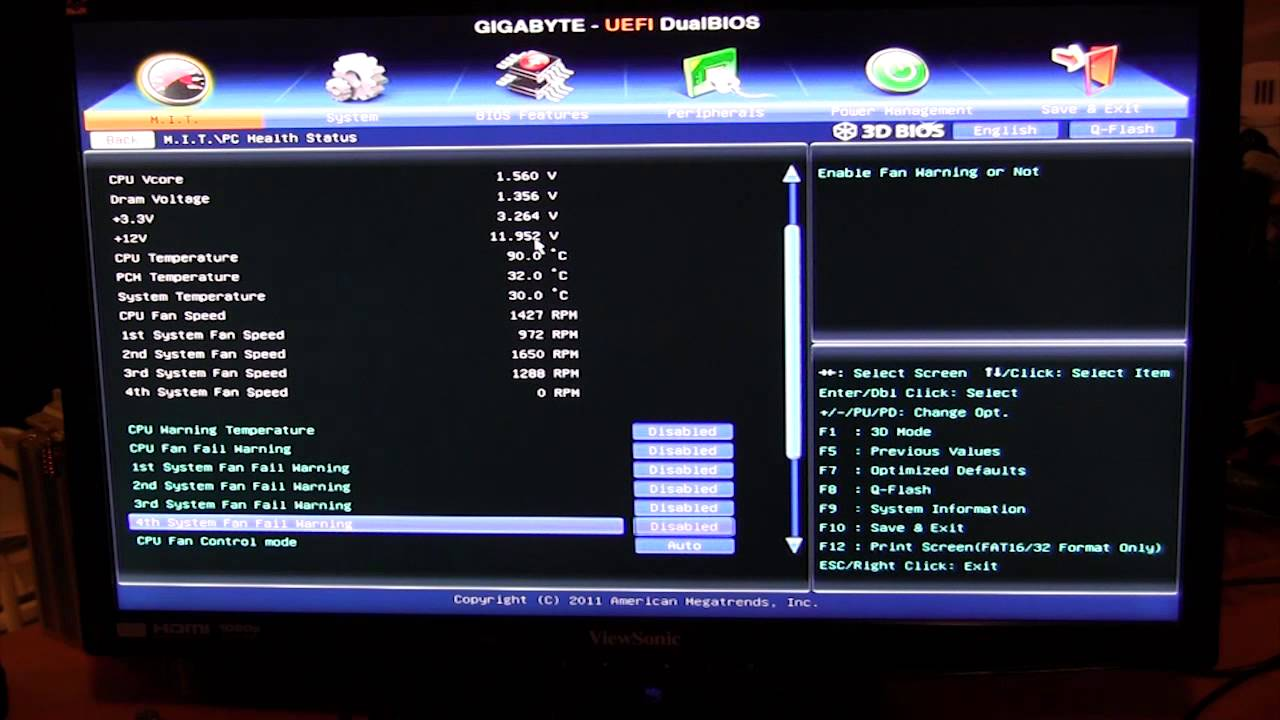Gigabyte Uefi Bios Overview Z77x Ud4h Youtube