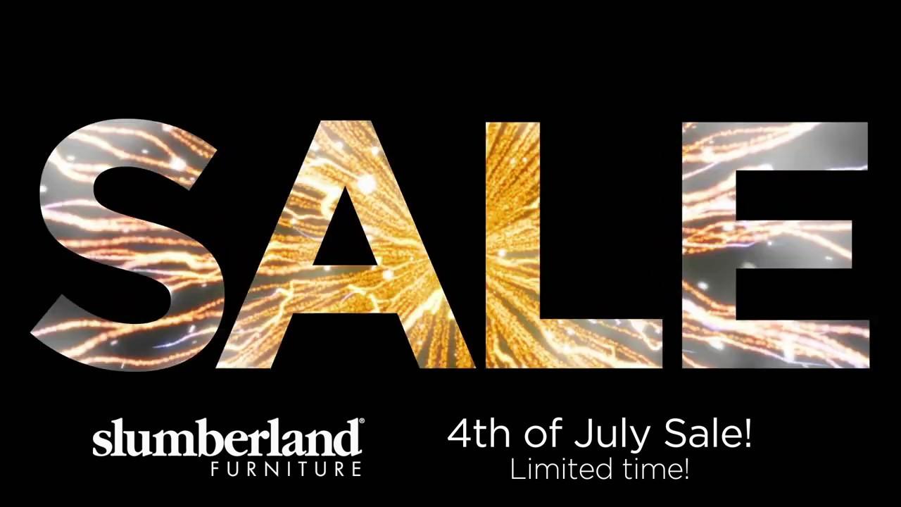 4th July Sale 10 at Slumberland