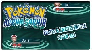 Pokémon Alpha Saphir: Erstes & Zweites Wi-Fi Battle gegen Juli nach 3. & 4. Arena