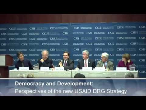 Democracy and Development: Perspectives of the new USAID DRG Strategy