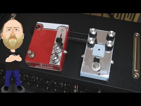 Aura Amps TL Overdrive & Flow Time Test Drive