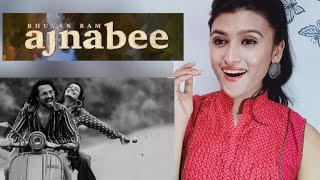 Ajnabee - Bhuvan Bam l Official Music Video l Pahadigirl reaction