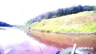 Рыбалка на голавля на реке Ай в Челябинской области!