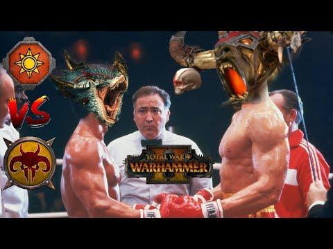KROQY BALBOA & THE SUPERBEAST - Beastmen vs Lizardmen | Total War Warhammer 2 |