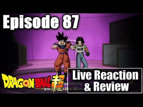 DRAGON BALL SUPER EPISODE 87 - LIVE REACTION & REVIEW *SPOILERS* ANDROID 17 & GOKU VS POACHERS!