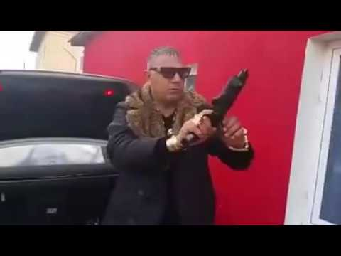 Bulgarian Mobster Shows Off