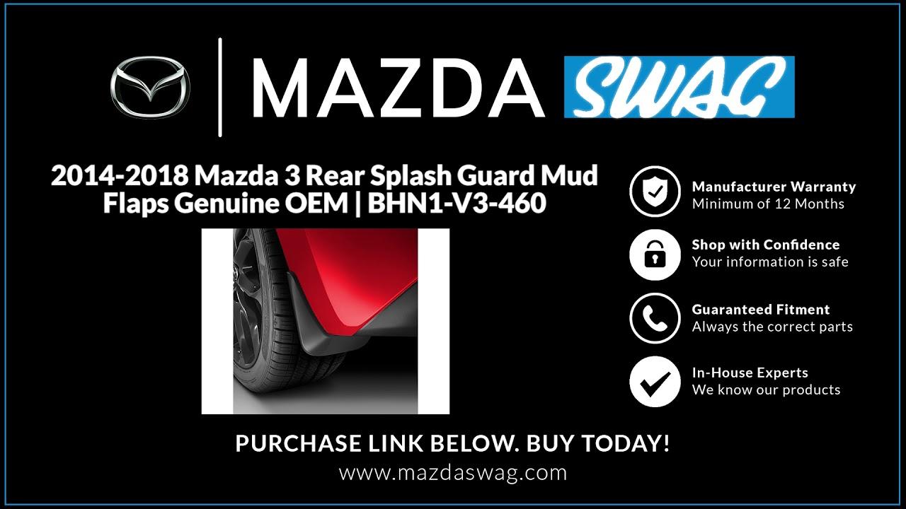 2014 Mazda 3 Mud Flaps