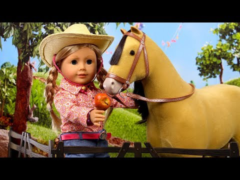 American Girl Doll Horse Three Playsets | American Girl Spirit Stables Collection
