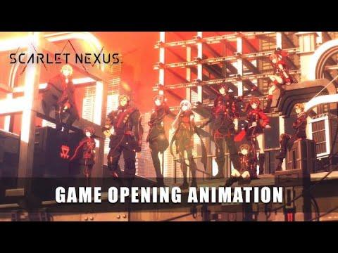 SCARLET NEXUS - Game Opening Animation