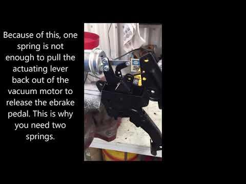 1964 66 Thunderbird Ebrake Pedal Assembly Repair