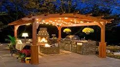 Wooden Outdoor Bar Ideas