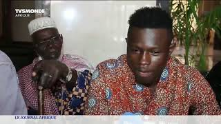 Retrouvailles de Mamoudou Gassama et de sa famille