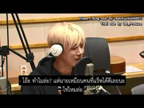 [ซับไทย] 150508 ฮยอนซึงกับแร็พเปอร์♡ @Kiss the radio
