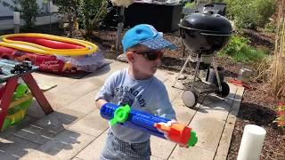 Super Soaker von Nerf beim SpielzeugTester Julian