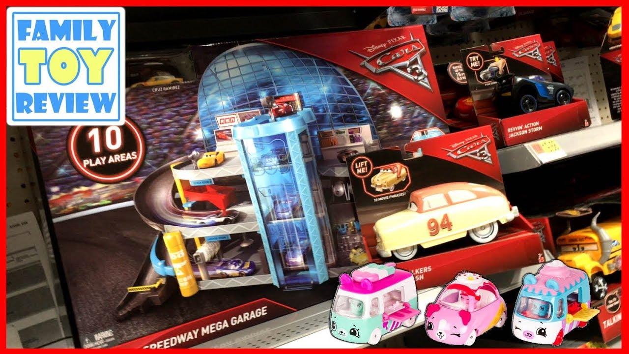 New Cars 3 Toys Hunt Alert Florida Speedway Mega Garage