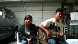 Two Wrongs - Wyclef & Claudette acoustic cover w/ Michael Carreon
