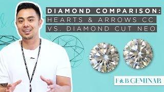 Hearts & Arrows C&C Moissanite v. Diamond Cut NEO Moissanite