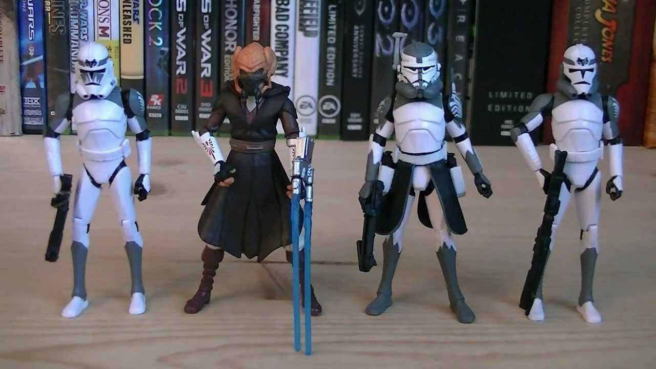 star wars 104th battalion wolf pack clone troopers ultimate gift