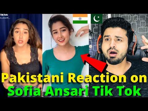 Pakistani React On Sofia Ansari Latest TIKTOK VIDEOS   Indian TikToker   Reaction Vlogger