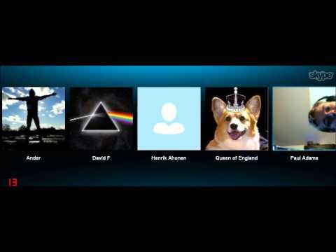 Skype karaoke