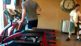 Zach Filkins on a Treadmill | Behind the Scenes | OneRepublic