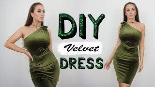 Diy velvet dress | tijana arsenijevic ...