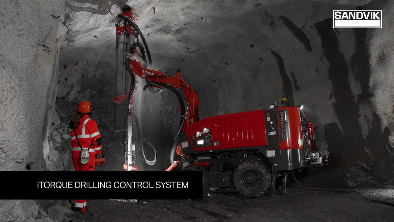 Commando™ DC300Ri – Perfection in tunneling | Sandvik Mining and Rock Technology