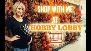 Shop with Me! | Hobby Lobby Fall Decor | Christmas Sneak Peek | Summer Whitfield