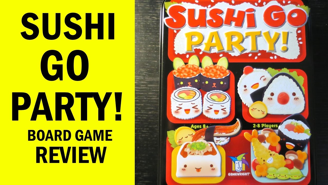 Buy Sushi Go Party! - Board Game - Gamewright