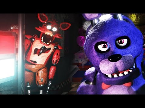 CHASED BY FOXY + JUMPSCARE! | Unreal Shift at Freddy's Remake #1
