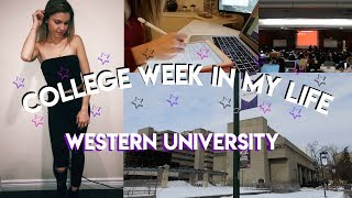 COLLEGE WEEK IN MY LIFE! | Week At Western University