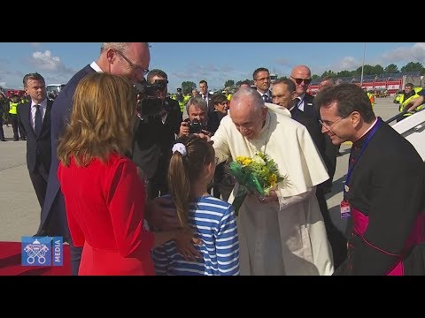 Pope arrives in Ireland!