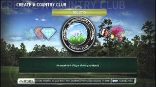 Tiger Woods PGA Tour 14: Country Club Information (PS3)