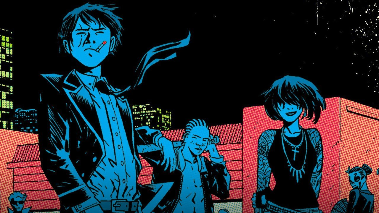 What Deadly Class Takes Straight from the Comics - Comic Con 2018 - YouTube