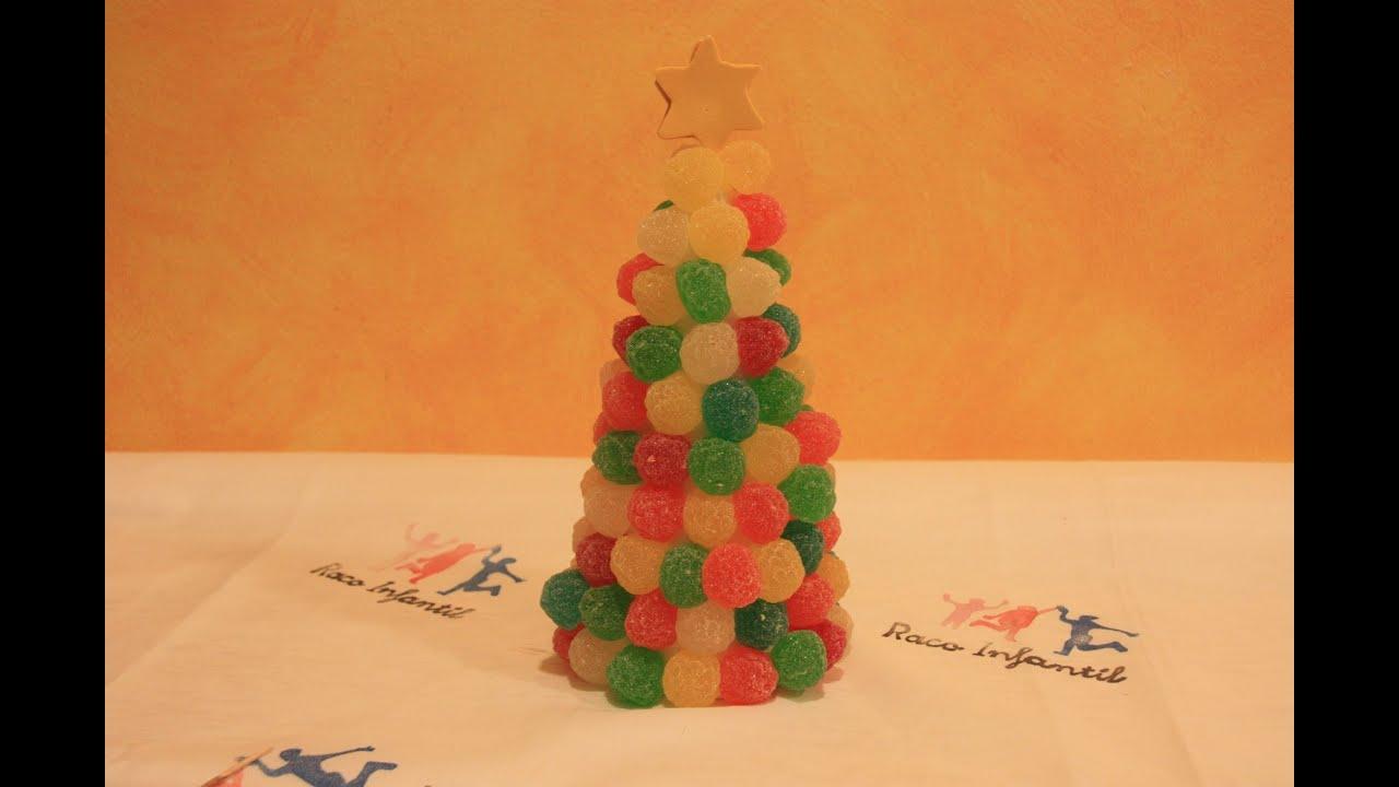 C mo hacer un rbol de navidad dulce - Hacer arbol navidad ...