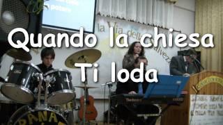 """Cantici Cristiani: """"Quando la chiesa Ti loda"""" - Franco Faro e Denise  [HD 1080p]"""