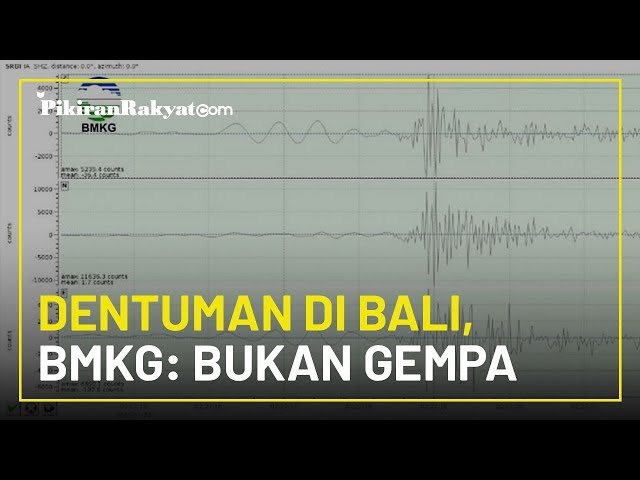 Dentuman Misterius Muncul di Buleleng, Bali, Nelayan Ungkap Penampakan Semacam Meteor, Ini Kata BMKG