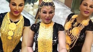 Rakhi Sawant Wears WORLD