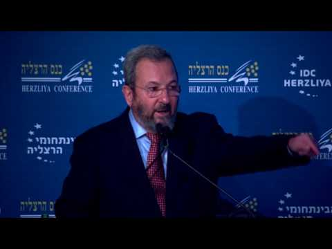 Lt  Gen  res  Ehud Barak, Former Prime Minister and Former Minister of Defense