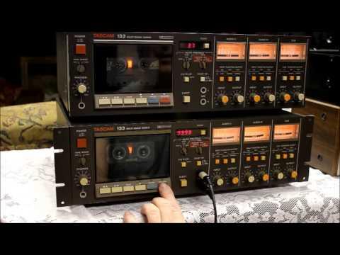 Tascam 133 Cassette Demo