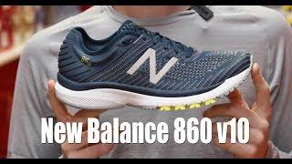 New Balance 860 v10 Shoe Review
