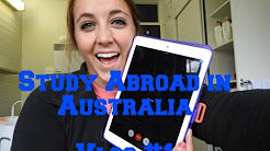 Study Abroad in Australia - Vlog #1: My first day in Australia!