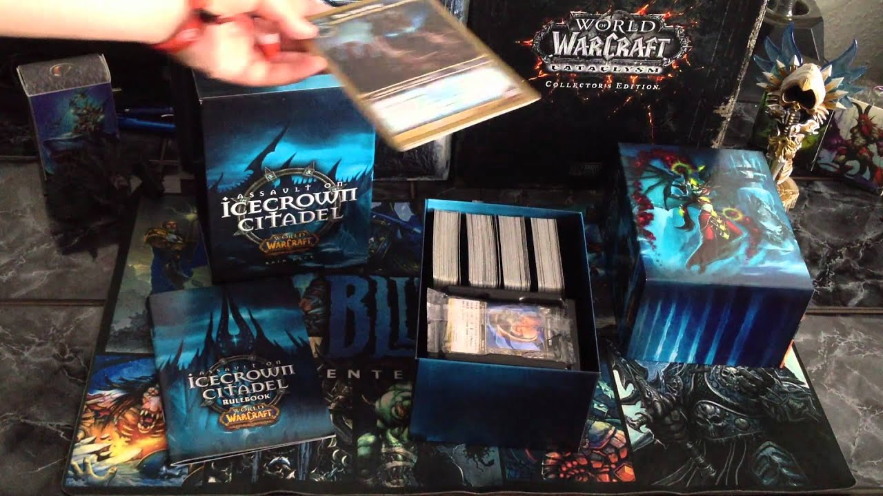 WoW TCG Poland - Assault On IceCrown Citadel - Unboxing
