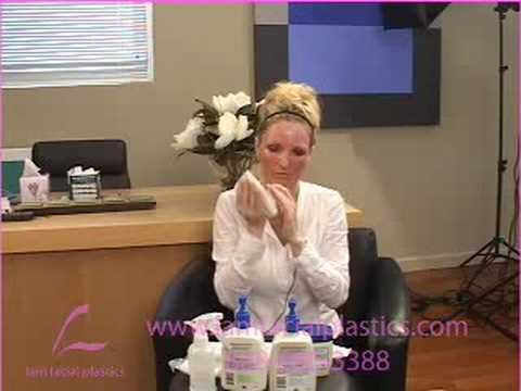 SKIN RESURFACING TUTORIAL AFTER CARE